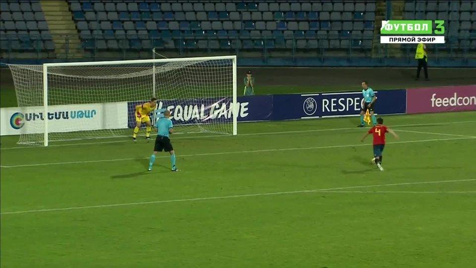Футбол франция- испания u- 19