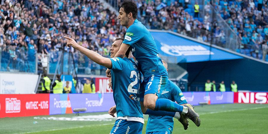 Дзюба забил три, Карпин просил «Ростов» пропустить шесть. Репортаж о центральном матче тура в Санкт-Петербурге