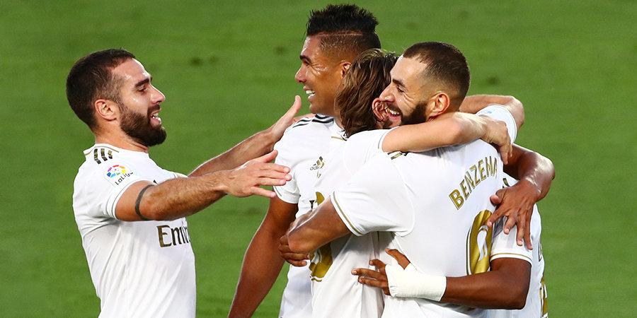 «Реал» победил «Вильярреал» и за тур до финиша стал чемпионом Испании