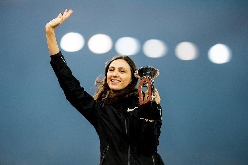 Россиянка Ласицкене признана лучшей легкоатлеткой года в Европе