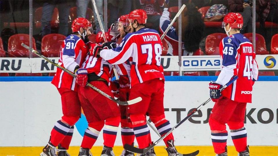 10 хоккеистов ЦСКА вошли в состав олимпийской сборной России