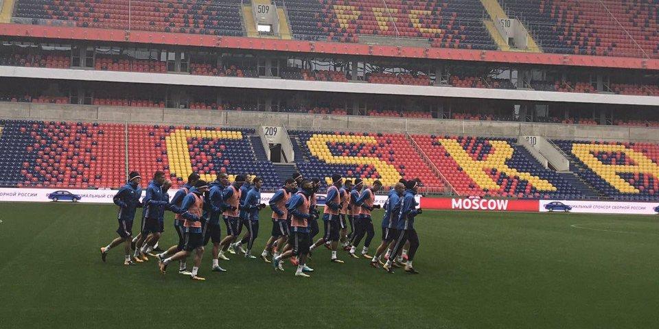 Головин тренируется отдельно от сборной перед матчем с Кореей