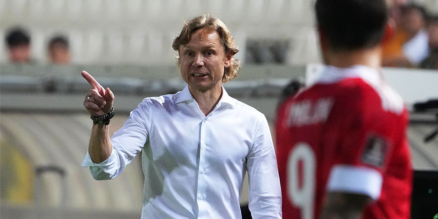 Валерий Карпин: «Уровень игроков позволяет нам играть по схеме 4-3-3»