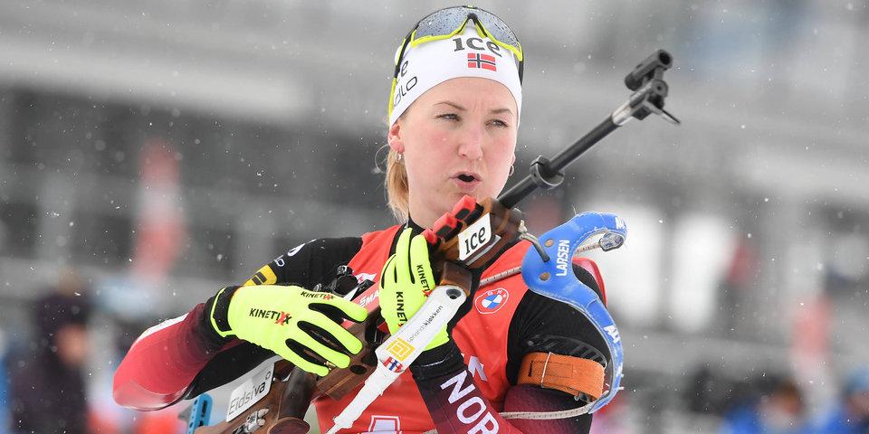 Рёйселанд рассказала, как тренеры и психолог помогли ей выиграть масс-старт