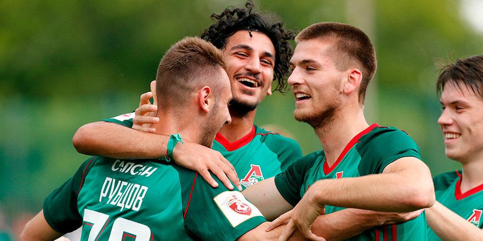 Молодежь «Локомотива» разгромила сверстников из «Анжи»