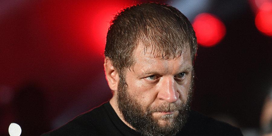 Александр Емельяненко — Шлеменко: «Бздило, мне стало известно, какую сумму ты запросил за бой со мной»