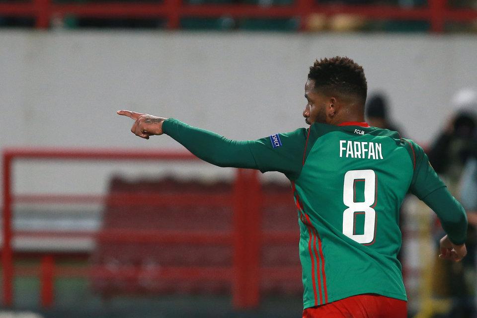 Фарфан попал в команду недели FIFA 18