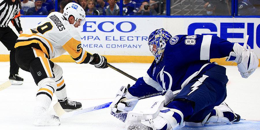 «Питтсбург» без Кросби и Малкина обыграл действующего чемпиона. Итоги матча открытия сезона НХЛ