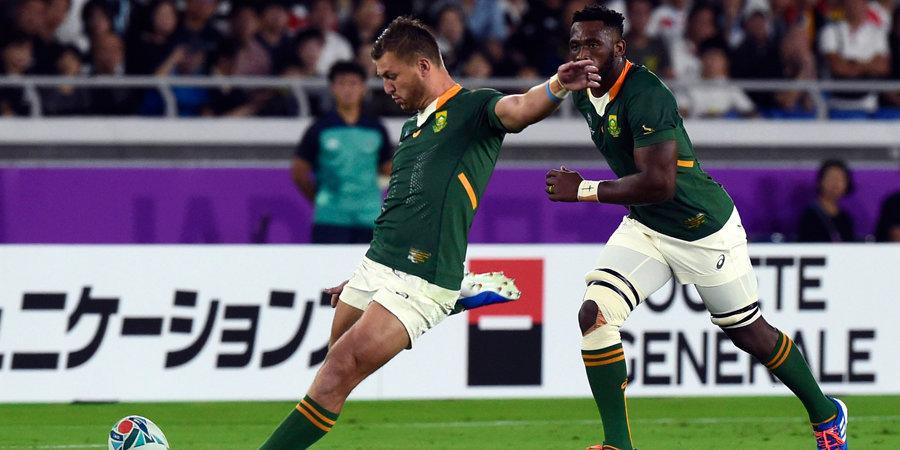 Сборная ЮАР победила Англию и в третий раз выиграла Кубок мира по регби