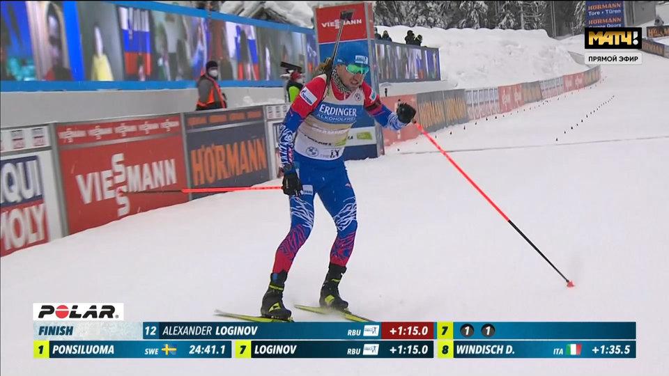Латыпов в топ-10, золотая майка не принесла удачи Логинову, Норвегия без медалей. Лучшие моменты спринта и все интервью