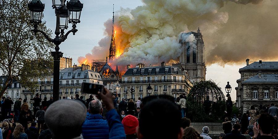 «Зенит» выразил сожаление в связи с пожаром в соборе Парижской Богоматери