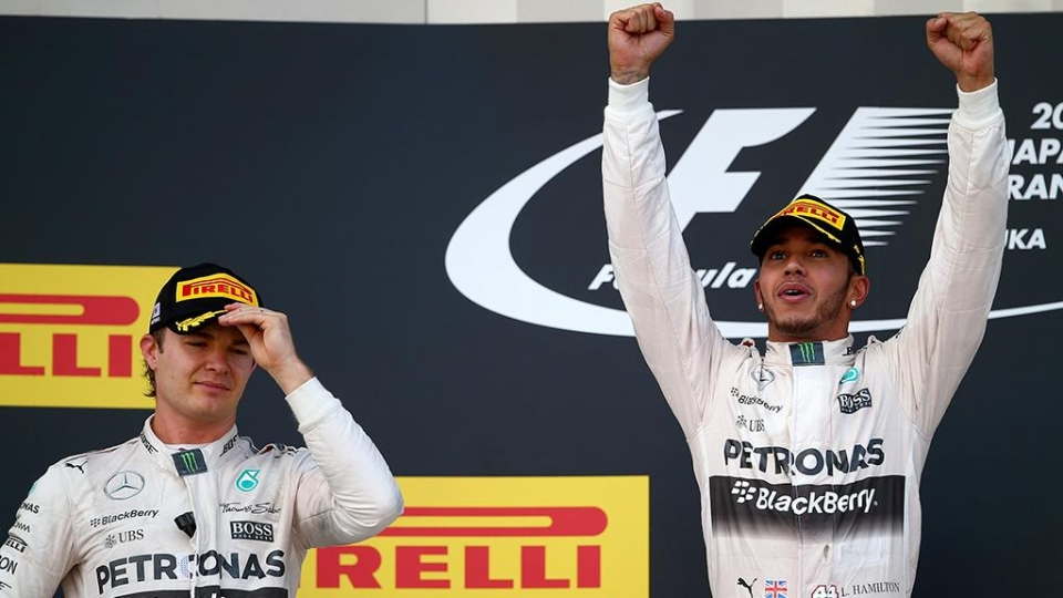 Хэмилтон лучше Росберга в квалификации Абу-Даби перед последней гонкой сезона, Квят — 17-й