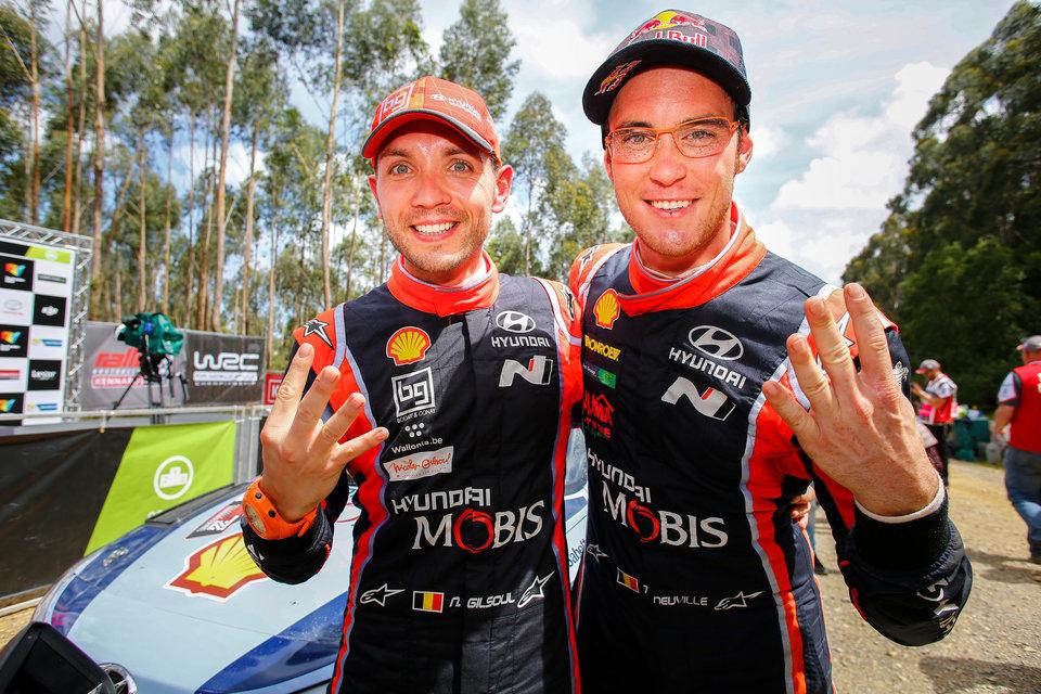 Hyundai Motorsport: четвертая победа в четвертом сезоне