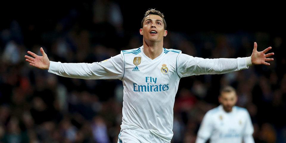 Хет-трик Роналду вывел «Реал» на третье место в Примере