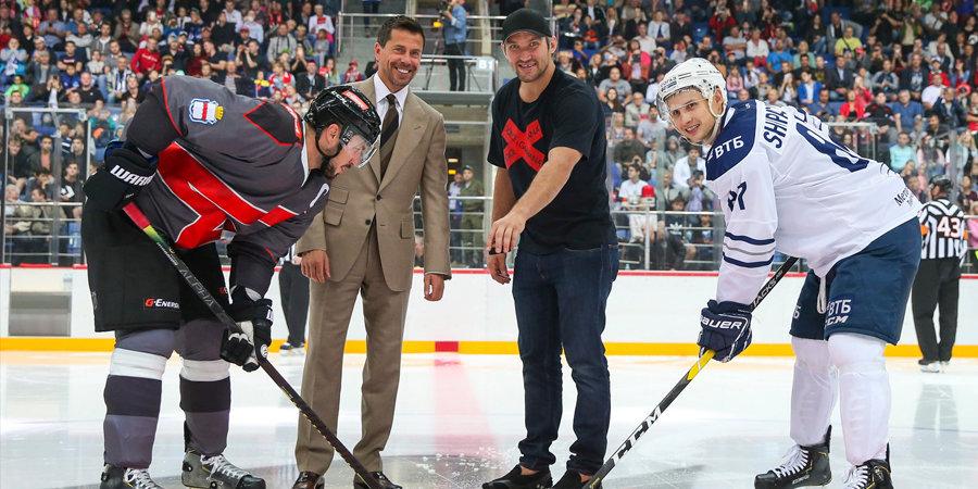«Овечкин — номер один в мировом хоккее. Кто же лучше него откроет нашу академию?»  Босс «Авангарда» напомнил, из какого клуба уезжал Ови в НХЛ