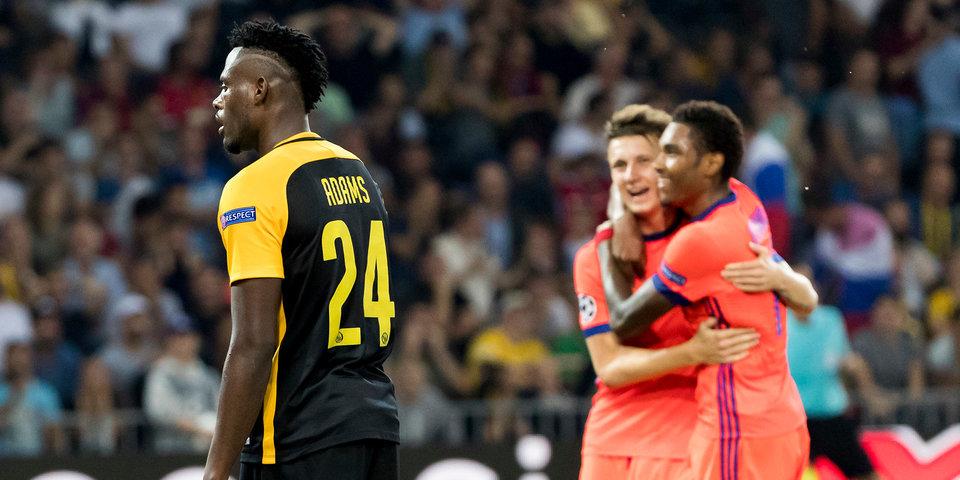 Футболисты «Янг Бойз» поддержат защитника команды, который забил автогол