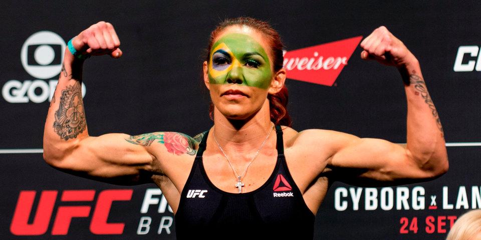 UFC проведет бой между двумя чемпионками