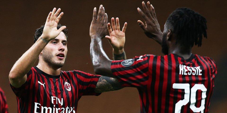 «Милан» обыграл «Фиорентину» и повторил клубный рекорд в Серии А