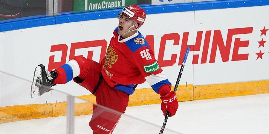 «Больше всего хотел забить в день рождения отца!» Лучший снайпер сборной России — о победе на втором этапе Евротура