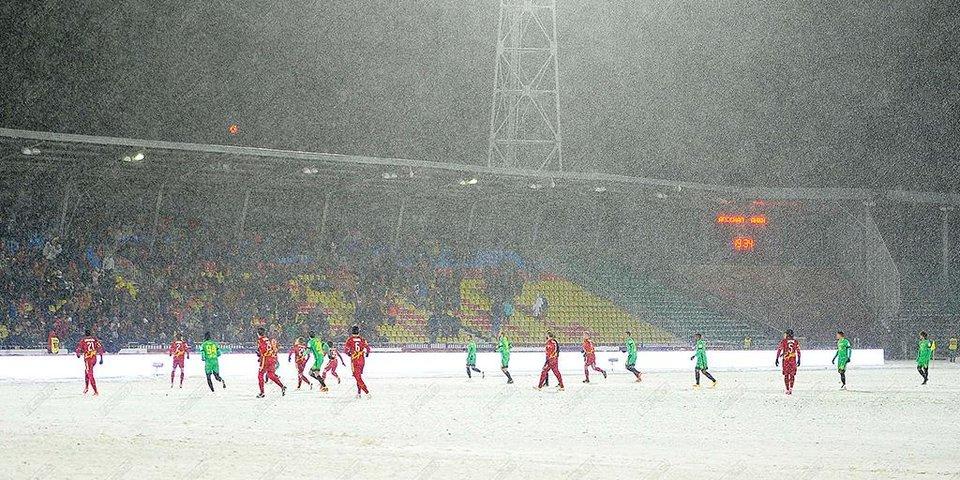 5 снежных матчей премьер-лиги, в которых никто ничего не видел