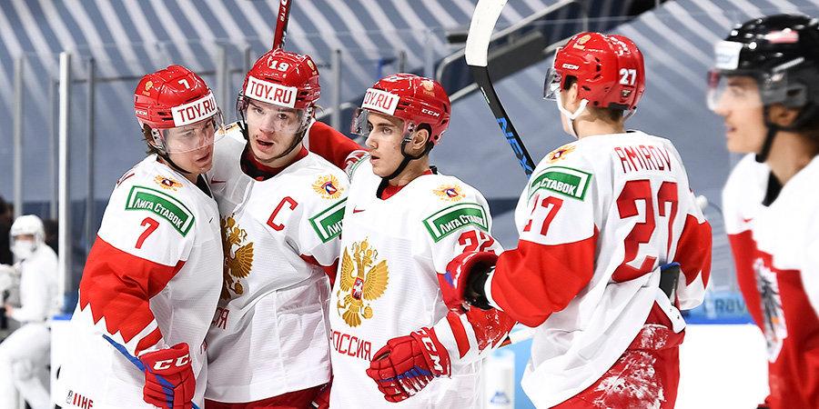 Сборная России назвала состав на матч со шведами на МЧМ
