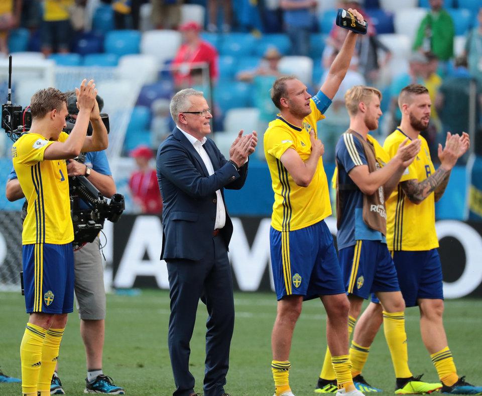 Янне Андерссон: «У Швеции есть все для победы над Мексикой»