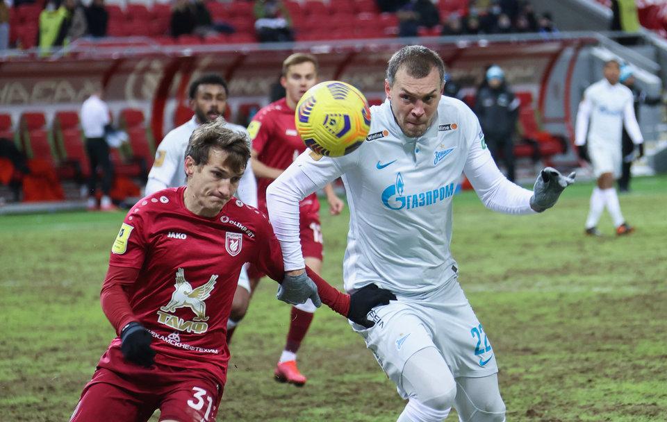 Алексей Игонин: «Не сказал бы, что игра с «Рубином» была вчистую проиграна «Зенитом»