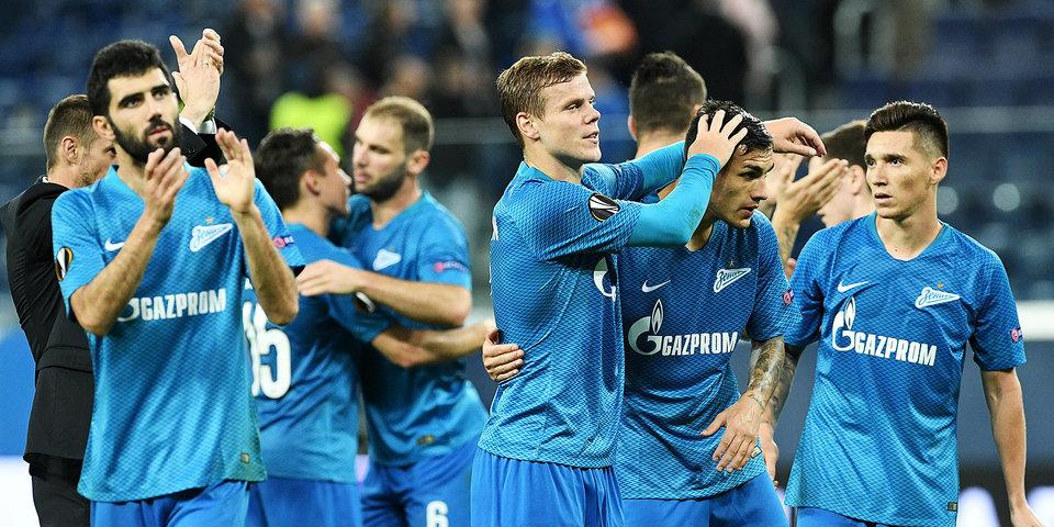 Защитник Чернов — в стартовом составе «Зенита» на матч с «Краснодаром»
