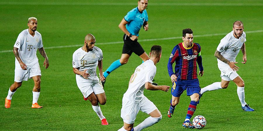 Месси обновил рекорд по числу команд, которым он забивал в Лиге чемпионов