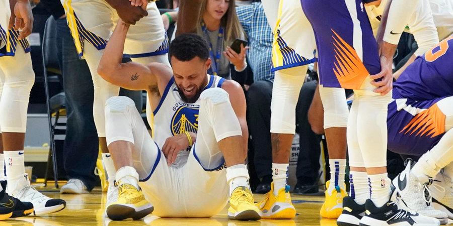 Хэллоуин в НБА: Карри сломал руку, в одном матче набрали 317 очков, в другом – подрались двое с ростом 2,13
