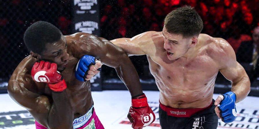 Ученик Федора Емельяненко выиграл первый бой Гран-при Bellator. Русский чемпион идет к защите титула