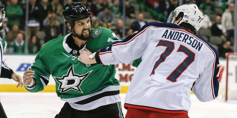Летающие кулаки и шлемы. Фотогалерея драк в матчах НХЛ