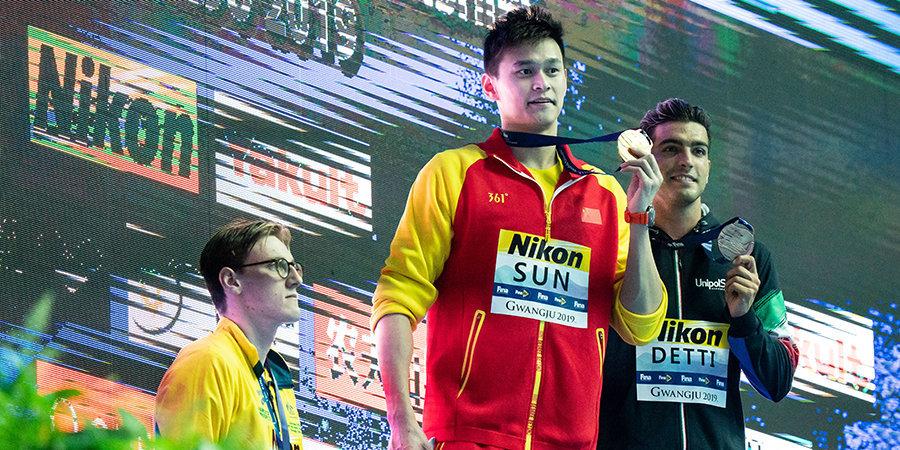 Россия проигрывает в эстафете только Америке, австралиец выразил презрение Сунь Яну. В Кванджу пошла настоящая жара!