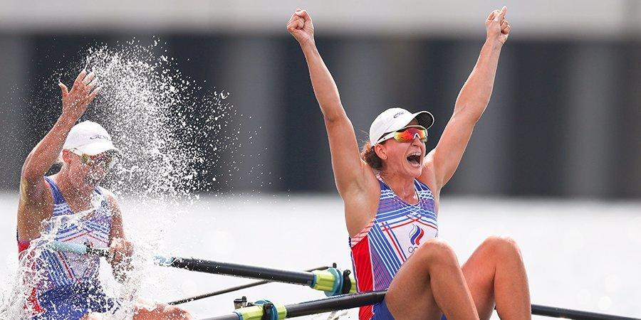 Степанова и Орябинская взяли серебро в финале среди парных двоек на Олимпиаде