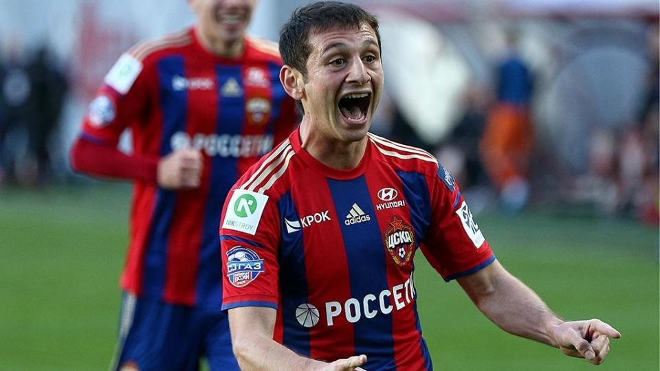 Дубль Ионова помог ЦСКА разгромить «Томь»
