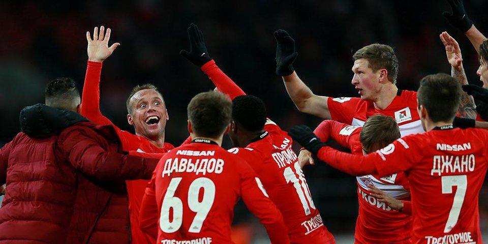 Лучшие команды старта сезона. «Спартак»