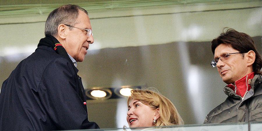 Министр иностранных дел РФ Лавров рассказал, как начал болеть за «Спартак»