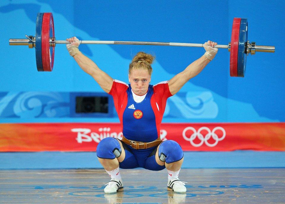 Тяжелоатлетка Сливенко получила золотую медаль ОИ-2008