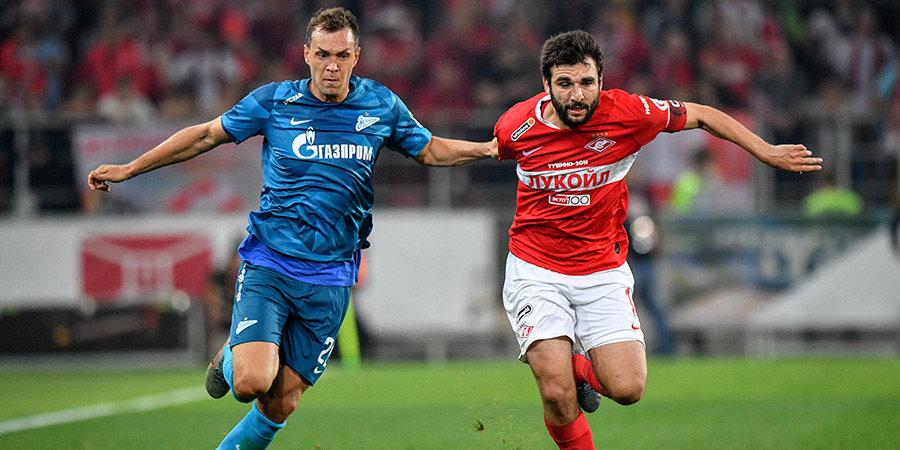 «Спартак» и «Зенит» назвали составы на матч 10-го тура Тинькофф РПЛ