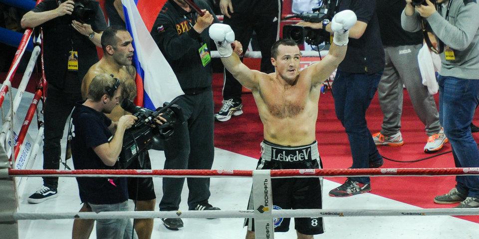 Лебедев готовится к возвращению на ринг
