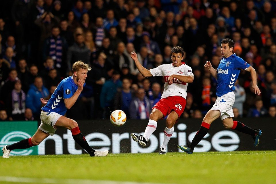 «Рейнджерс» упустил победу в матче чемпионата Шотландии