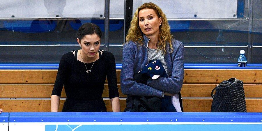 Тутберидзе утверждена тренером Медведевой