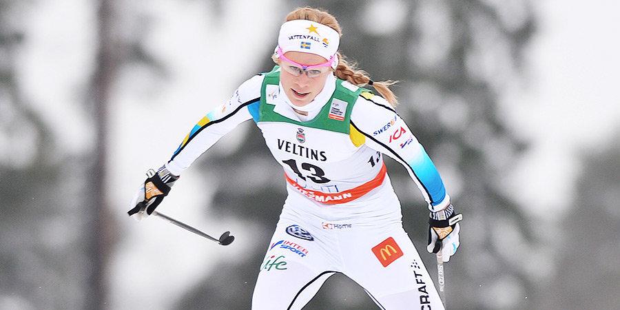 «Мне еще никогда не было так плохо». Шведская лыжница заразилась коронавирусом