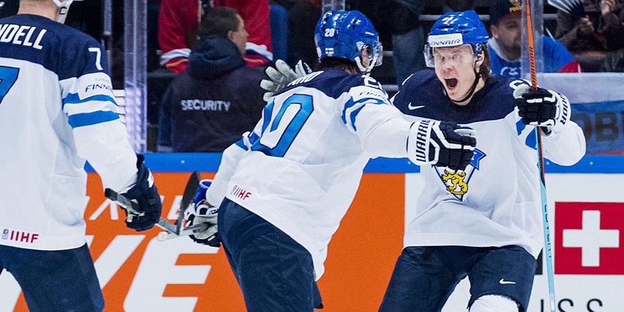 Финляндия, Чехия и Швеция назвали по три игрока НХЛ для участия в Олимпиаде-2022