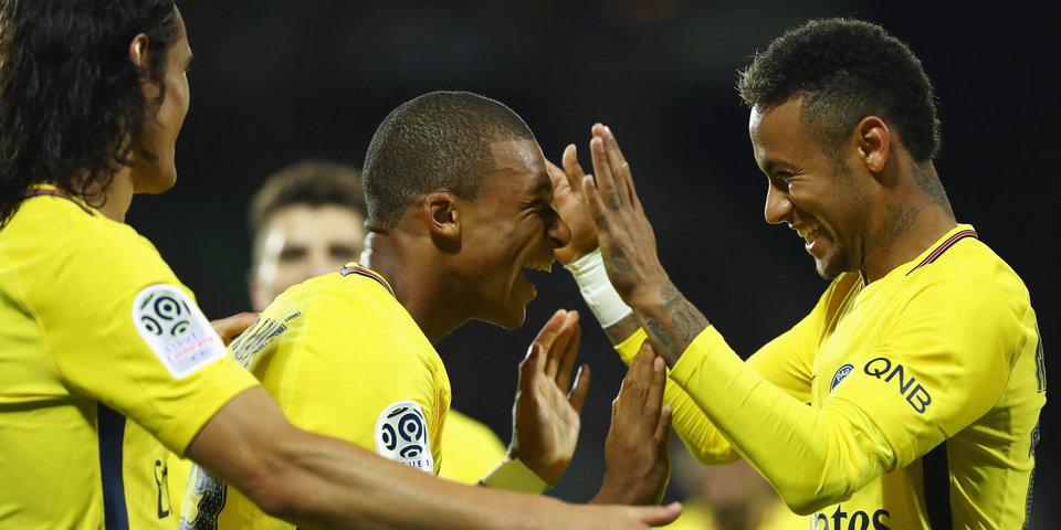 «ПСЖ» ненарушал финансового фэйр-плей при трансферах Неймара иМбаппе— УЕФА