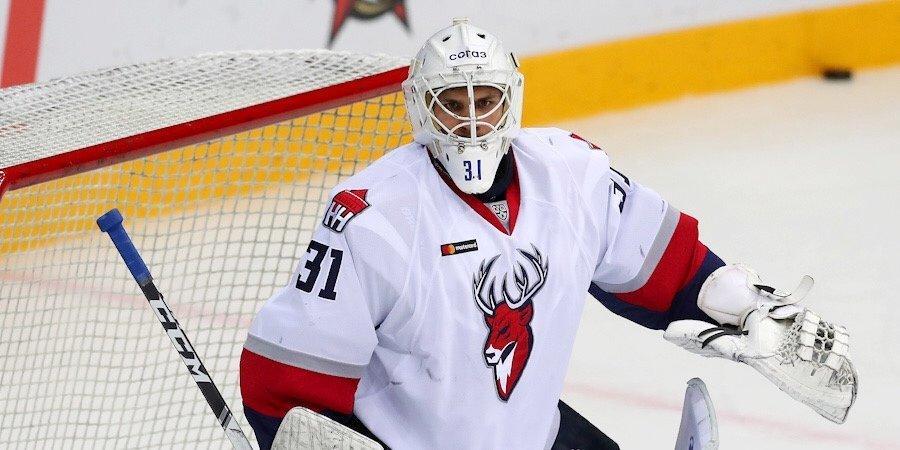 Вратарь «Торпедо» Серебряков назван лучшим игроком среды в КХЛ