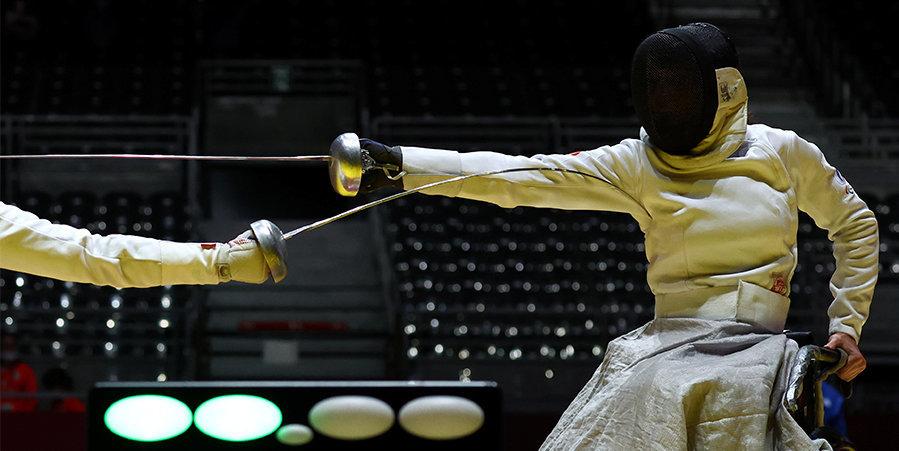 Нагаев и Васильева стали бронзовыми призерами Паралимпиады в фехтовании на рапирах