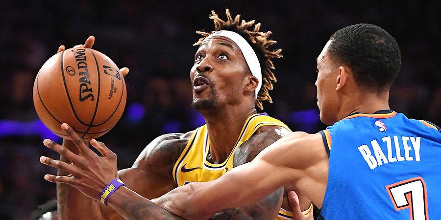Ховард вышел на 16-е место в истории НБА по блокам