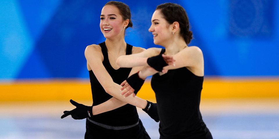 Олимпийский фотовзгляд: Загитова и Медведева. Девушки, в которых сегодня снова влюбится вся страна