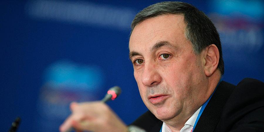 Евгений Гинер: «Успехом сборной России на Евро-2020 станет выход из группы»